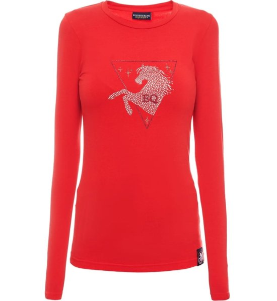 EQ Queen Bluse Jessica, Roed Rideudstyr